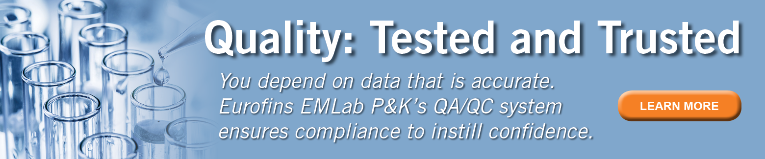 You depend on data that is accurate, and our QA/QC system gives you that confidence
